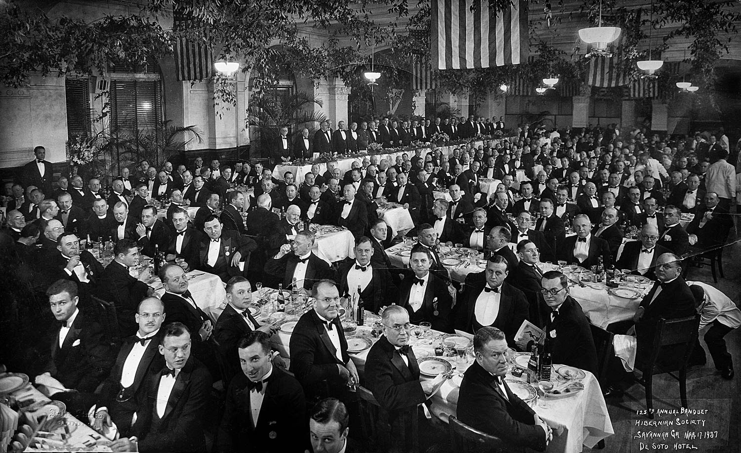 1937 Hibernian Dinner at the De Soto Hotel